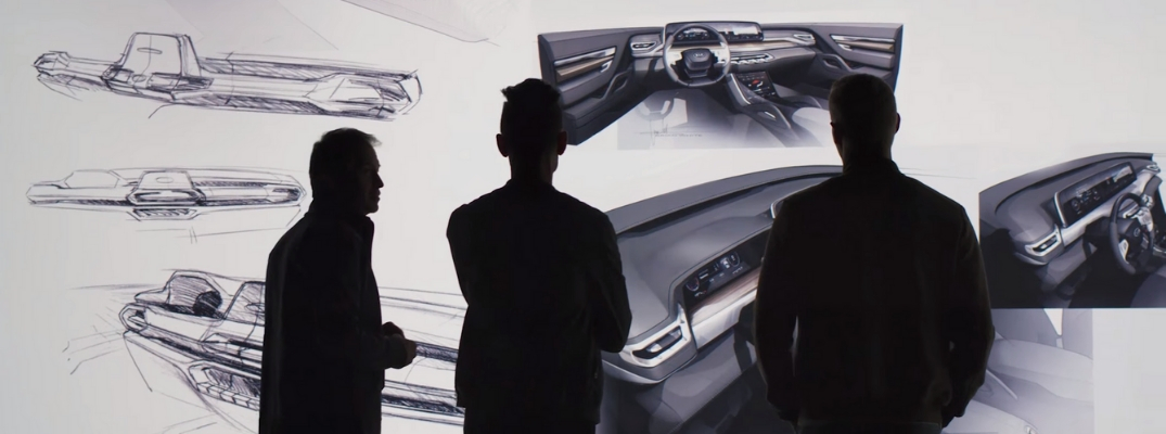 Screenshot of 2020 Kia Telluride Design Video