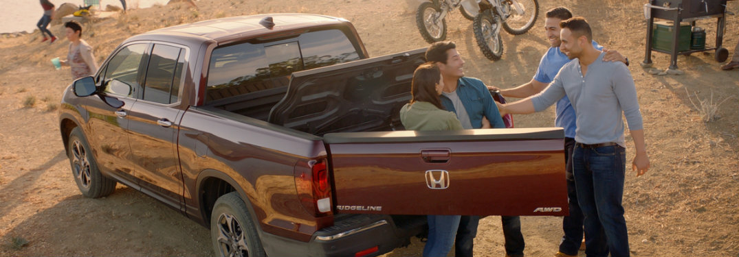 How Much Can Fit in the Honda Ridgeline In-Bed Trunk?