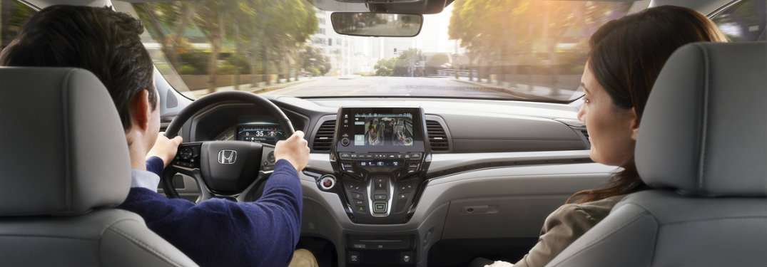 Infotainment Features on the 2018 Honda Odyssey