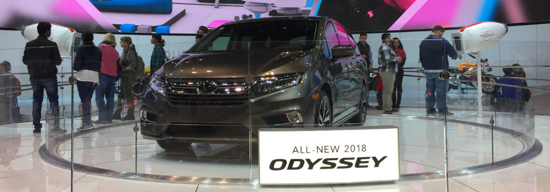 Honda Display at the 2017 Chicago Auto Show