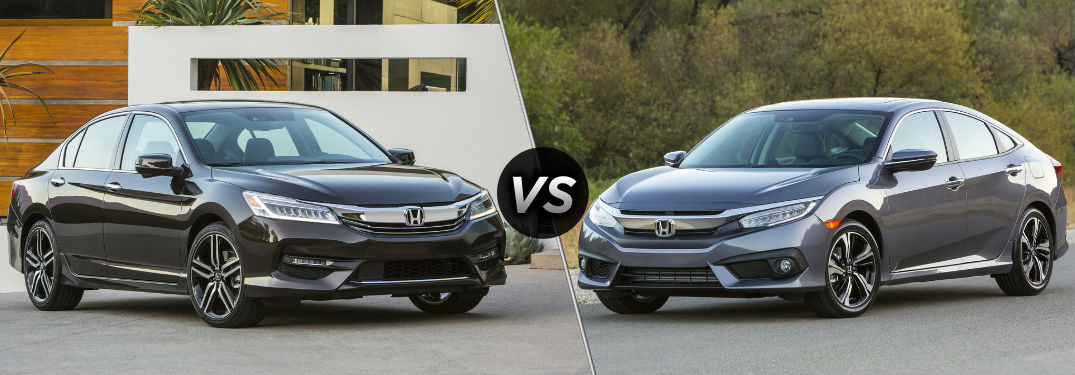 2018 honda accord sedan vs 2018 honda civic sedan for Honda accord vs honda civic
