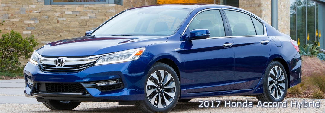 side view of a 2017 Honda Accord Hybrid