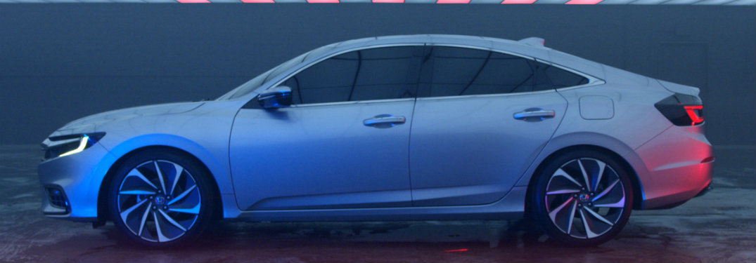profile view of the Honda Insight Prototype
