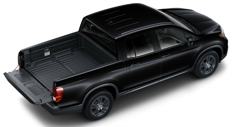 How much can you fit in the bed of the 2018 Ridgeline?