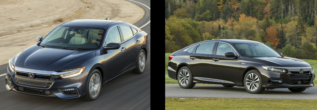 How do the Honda Insight and Accord Hybrid Compare?