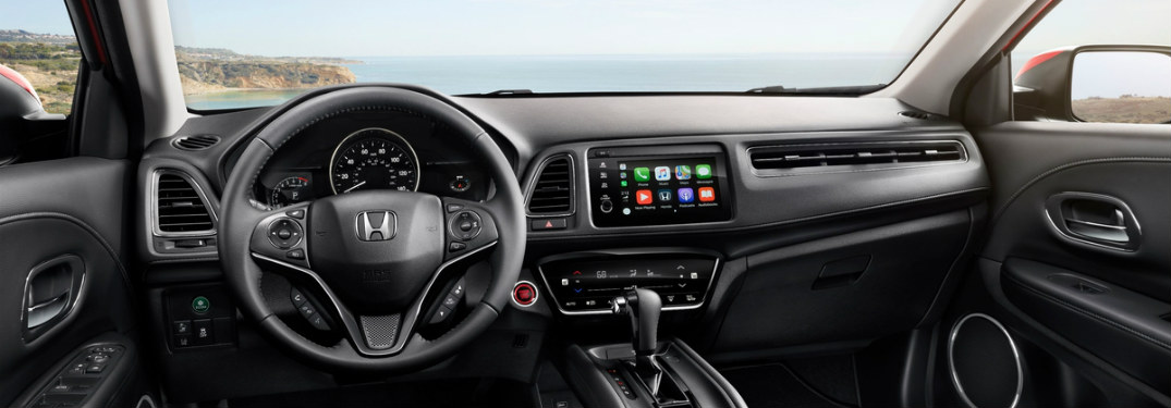 dashboard of the 2019 Honda HR-V