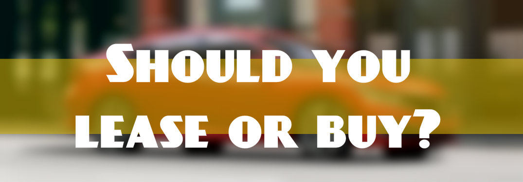 should you buy or lease a new Honda?