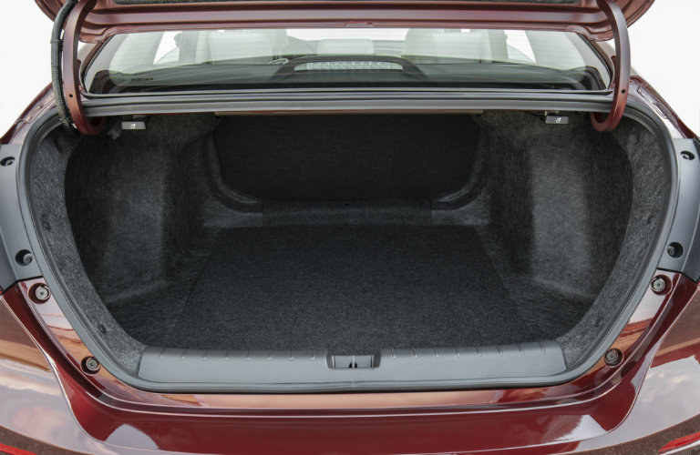picture of the 2019 Honda Insight trunk