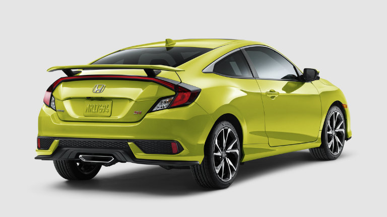 2019 Honda Civic Si Coupe in Tonic Yellow