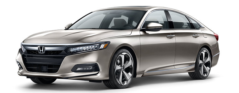 2019 Honda Accord in Champagne Frost
