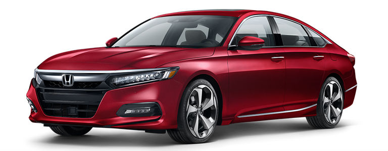 2019 Honda Accord in Radiant Red