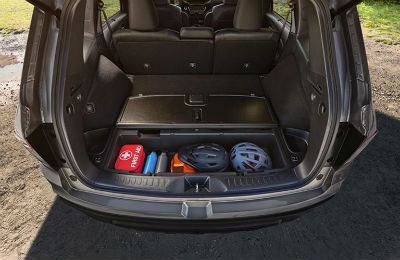 Honda Crv Cargo Space >> Interior passenger and cargo space of the 2019 Honda Passport