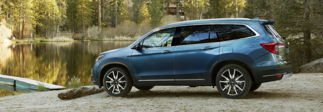 Bring a splash of color to your drive with the Honda Pilot!