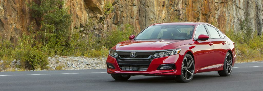 City and highway gas mileage* of the 2019 Honda Accord