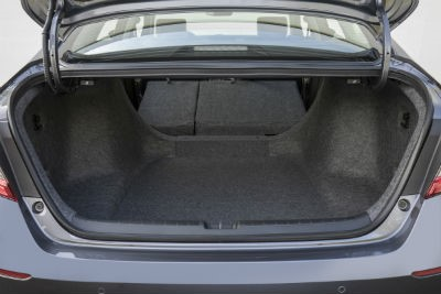2019 Honda Accord exterior looking inside at cargo space