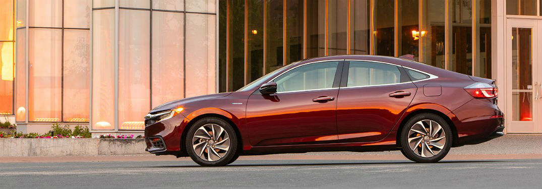 What 2019 Honda models have a hybrid model option?