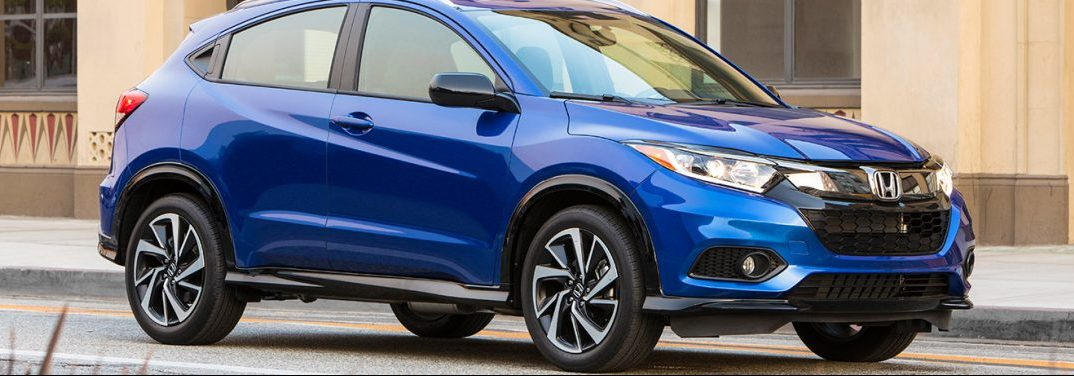 Check out the different exterior color options for the 2019 Honda HR-V!