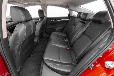 2019 Honda Civic interior back cabin seats