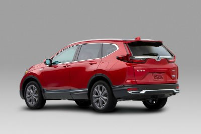 2020 Honda CR-V Hybrid exterior back fascia and driver side