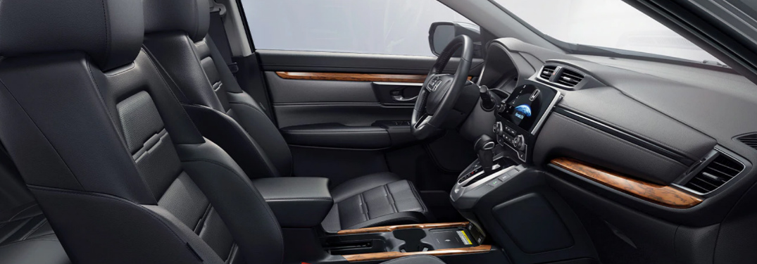 2020 Honda CR-V Touring front interior