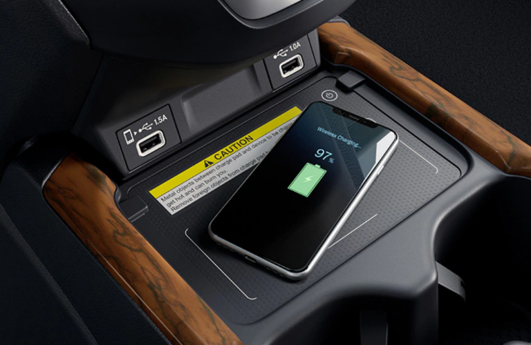 How To Use The 2020 Honda Cr V Wireless Phone Charger