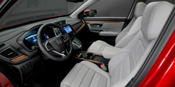 Interior view of 2020 Honda CR-V Hybrid