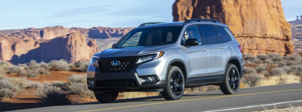 2020 honda passport interior and exterior color options