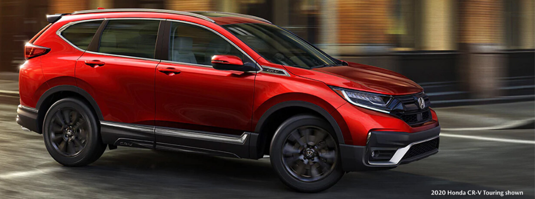 Red 2020 Honda CR-V Touring