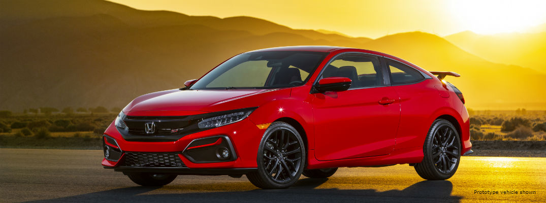 2020 Honda Civic Si Amplifies Sporty Style and Performance