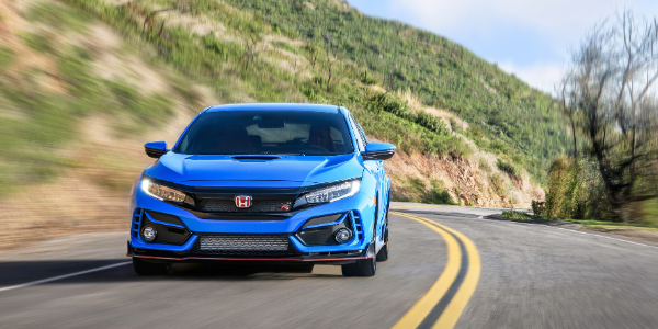 Front view of 2020 Honda Civic Type R