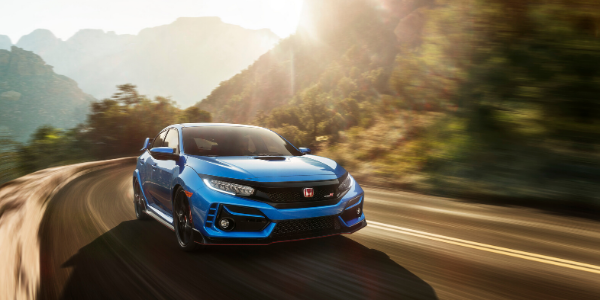 2020 Honda Civic Type R driving