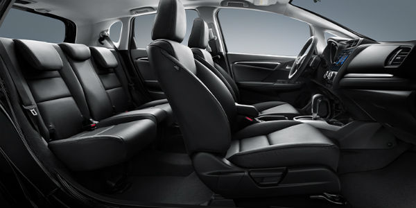 2020 honda fit cargo space and interior dimensions