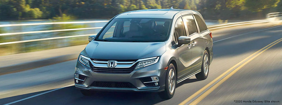Exterior Color Options Lineup for 2020 Honda Odyssey