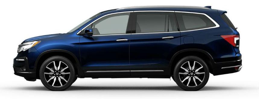 2020 Honda Pilot in Obsidian Blue Pearl
