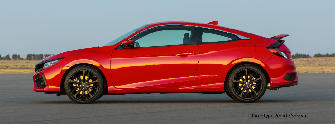 Get a Look at Each 2020 Honda Civic Si Paint Color Here!