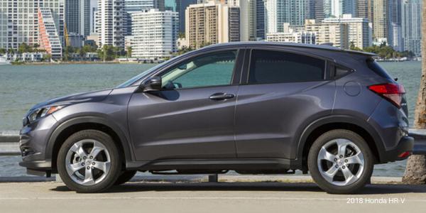 Grey 2018 Honda HR-V