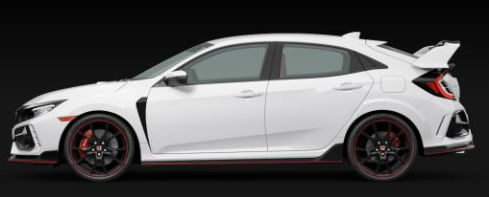 2020 Honda Civic Type R in Championship White