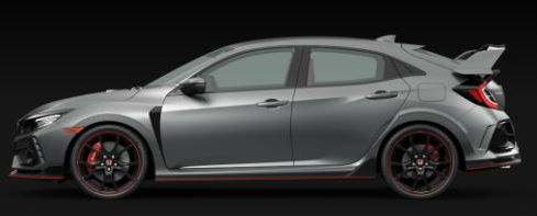 2020 Honda Civic Type R in Polished Metal Metallic