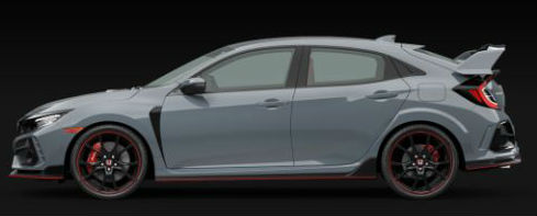 2020 Honda Civic Type R in Sonic Gray Pearl