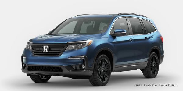 Blue 2021 Honda Pilot Special Edition