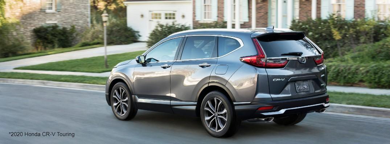 Grey 2020 Honda CR-V Touring