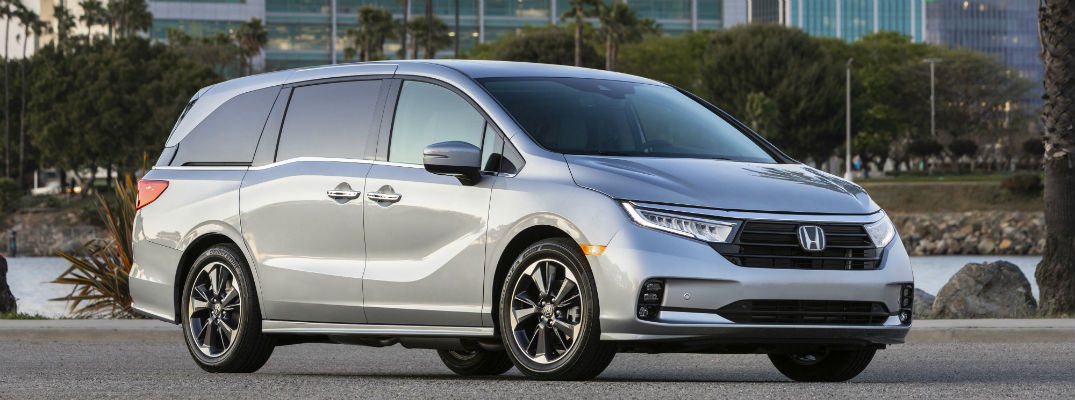 What Colors Are Available Inside the 2021 Honda Odyssey?