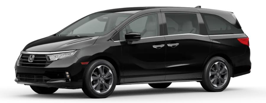 2021 Honda Odyssey in Crystal Black Pearl