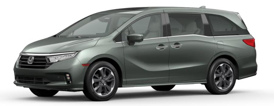2021 Honda Odyssey in Forest Mist Metallic