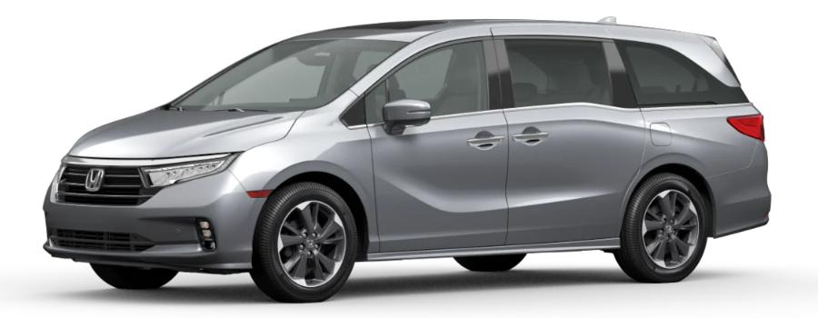 2021 Honda Odyssey in Lunar Silver Metallic