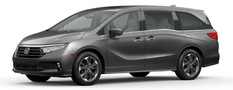 2021 Honda Odyssey in Modern Steel Metallic