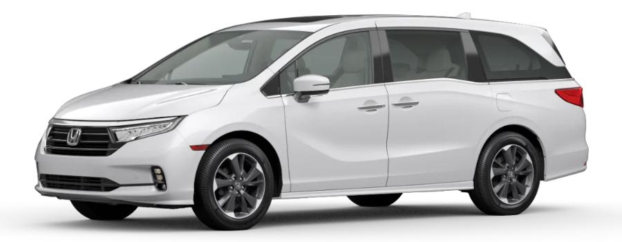 2021 Honda Odyssey in Platinum White Pearl