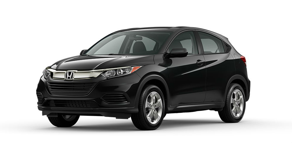 2021 Honda HR-V Crystal Black Pearl