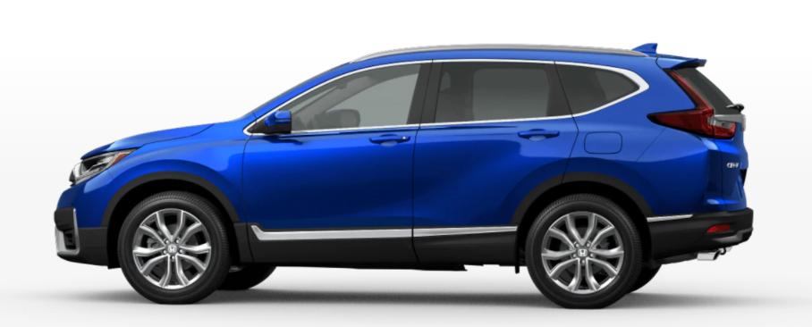 2021 Honda CR-V in Aegean Blue Metallic