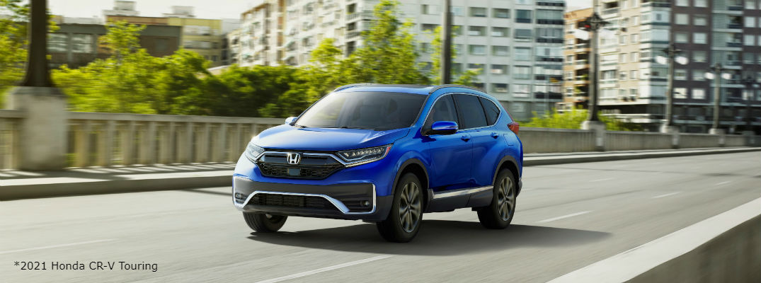What Colors Does the 2021 Honda CR-V Come in?